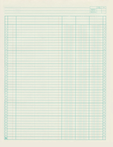 Scanned Ledger Book  Printable Accounting Ledger