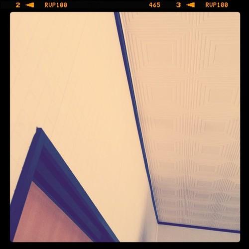 天井、壁、ドア。