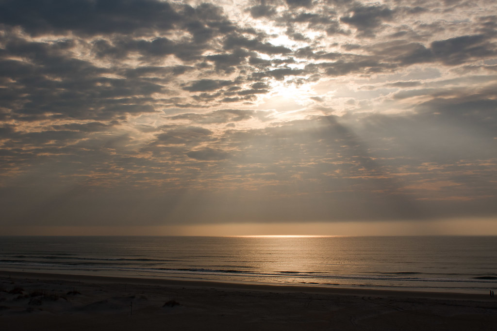 Morning Sun over Wrightsville Beach