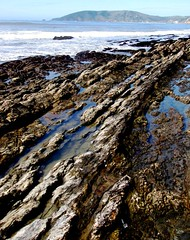 Reef Rock Shell Beach, California (moonjazz) Tags: california travel nature rock pacificocean geology centralcoast tidepool tides shellbeach earthscience seafloor reeef coastalgeography