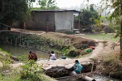TBD2_9493 (bandashing) Tags: poverty england people house water river manchester stream village poor clean drain wash bathe sylhet bangladesh sanitation sandbags unclean bandashing