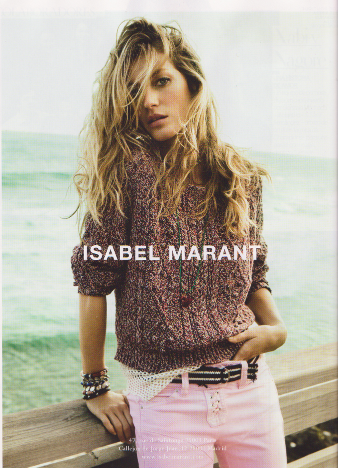 Think Pink: Isabel Marant
