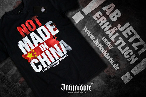 Not Made in China | Intimidate Streetwear