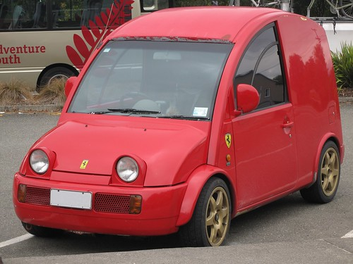 Probably not a real Ferrari S-Cargo?