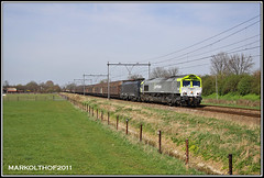 Zevenaar, 02-04-2011 (Mark Rail) Tags: ct papier zevenaar 47715 captrain paiertrein