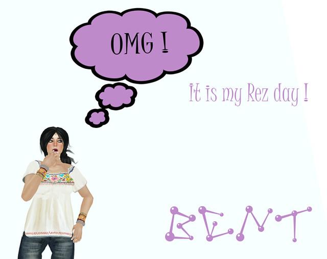 It is my REZ day !