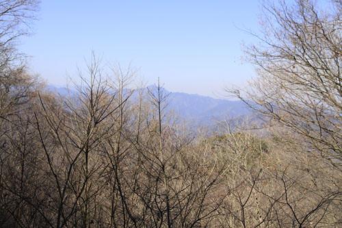 醍醐丸の山頂からの景色
