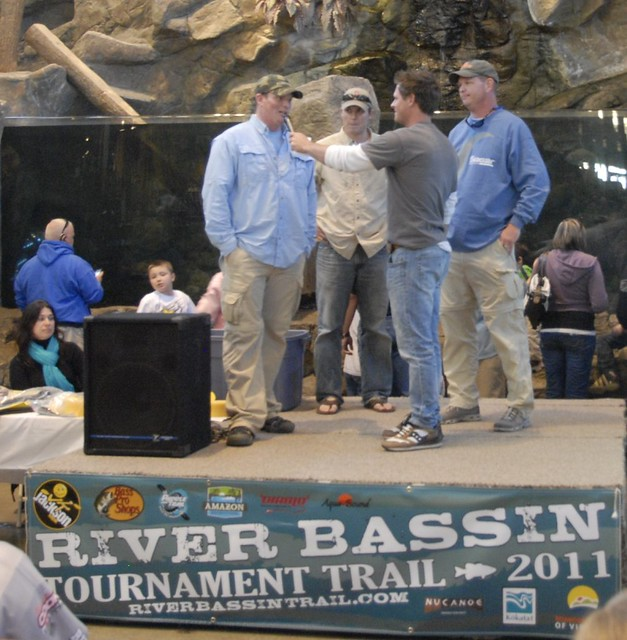 Eric Boyd wins the River Bassin Tournament Trail stop in Charlotte, NC