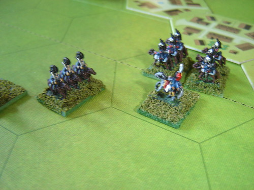 Fierce countercharge lead by Colonel Tascher