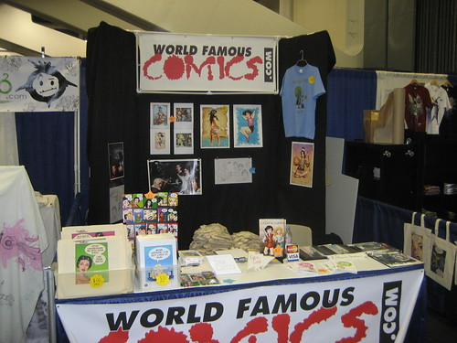 The World Famous Comics Booth