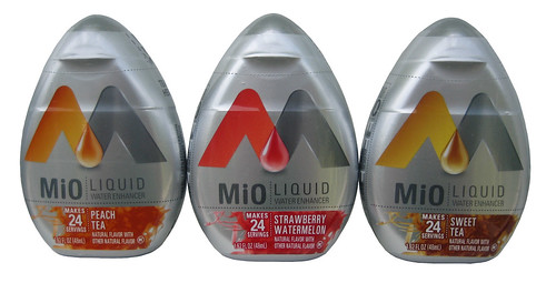 MiO Liquid Water Enhancer (Peach Tea, Strawberry Watermelon & Sweet Tea)