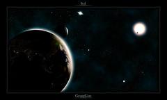 Sol (GruntGuy) Tags: sun moon sol field real star solar major venus earth space system gas stellar galaxy planet glowing fi minor sci draco ursa constellation fictional atmophere gruntguy