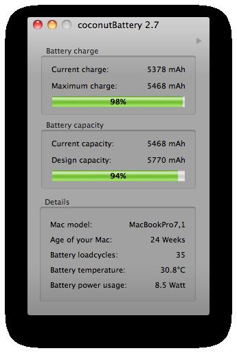 8.5 watts