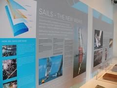 Sails - The New Weave (chatani) Tags: newzealand auckland americascup maritimemuseum blackmagic teamnewzealand bluewaterblackmagic 20110407 akl2011