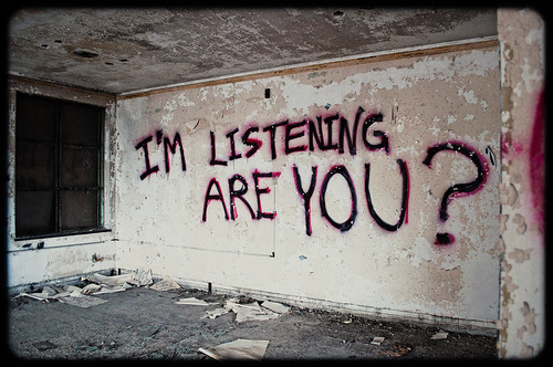 I'm listening are you?