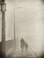 The Way Home (Feldore) Tags: street ireland mist fog walking child walk mother foggy belfast northern mchugh feldore