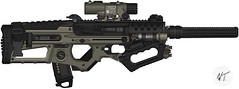 "Sweetwater Operator: ""Diamondback"" F2000 (The Wezzy) Tags: rifle assault concept custom fn silenced pmg f2000 pimpmygun"
