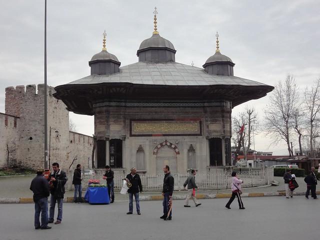 Fonte do Sultão Ahmed II em Istambul