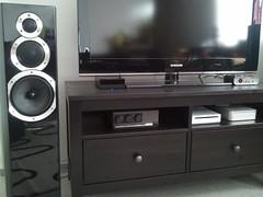 tv samsung screen diamond macmini stereo speaker mission 105 cyrus hometheater hifi wharfedale wii wharfedalediamond105 missioncyrus2