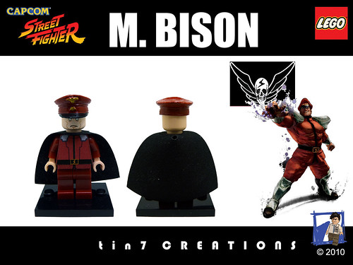 Custom minifig #14 - M. Bison