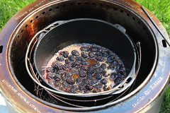 Fresh Blackberry Cobbler Dutch oven Style!