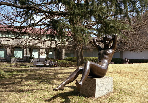 裸婦 世田谷美術館庭園