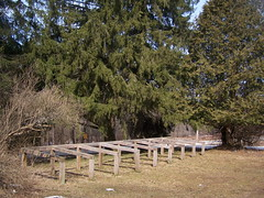 Horse Hitching Posts (andyarthur) Tags: horse creek forest state beaver posts hitching andyarthur beavercreeksf