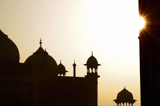 Sunrise at the Taj