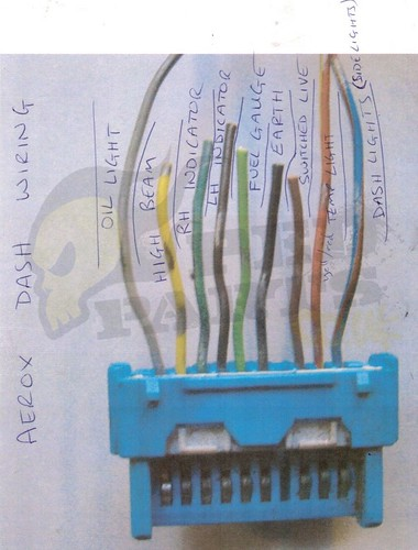 yamaha aerox speedo clocks wiring blog pedparts uk rh pedparts co uk yamaha aerox 50cc wiring diagram yamaha aerox light wiring diagram