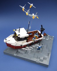 Trawler1 (Rogue Bantha) Tags: fisherman lego trawler