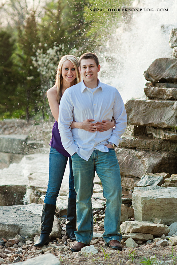 Briarcliff Kansas City engagement photos