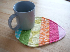 Easter Egg Mug Rug (2mayboys) Tags: