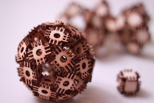 Spherical Blocklet Sculpture