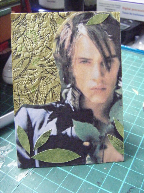 Jonathan Rhys Meyers ATC by SallyApplePie