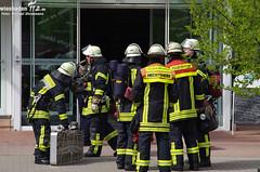 Feuer Hochhaus Mainz 16.04.11