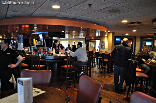 Bar Area inside Shorewood Bar & Grill ~ Fridley, MN