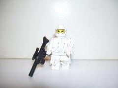 Arctic (KyoNinja) Tags: modern soldier lego suit ghillie mrlit kyoninja