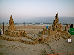 There Goes the Neighborhood (amazin walter) Tags: sand texas porta sandcastle sandsculpture portaransas texassandfest sandsculpting amazinwalterphoto