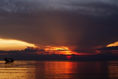 19.4.11 (obo-bobolina) Tags: sunset beach thailand april 365 kohphangan 2011 project365 haadmaehaad
