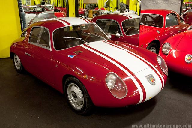 Fiat Abarth 750 Zagato_Museu Maranello Rosso