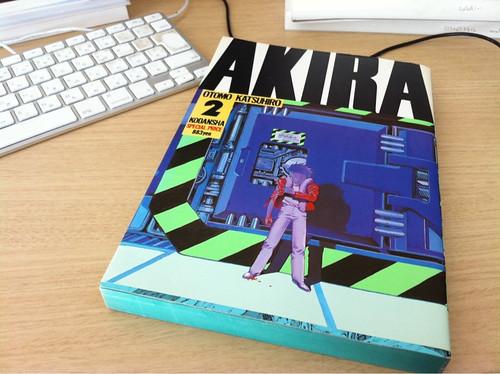 Akira 第2巻、Thanks @inata_hazuki