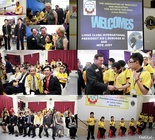 LCI President Sid Scruggs' Visit to District B2 Malaysia1