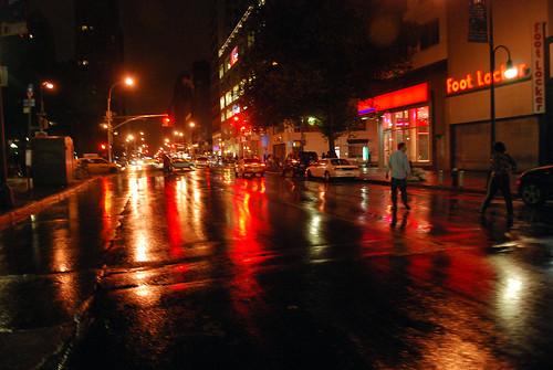 Rain - Union Square
