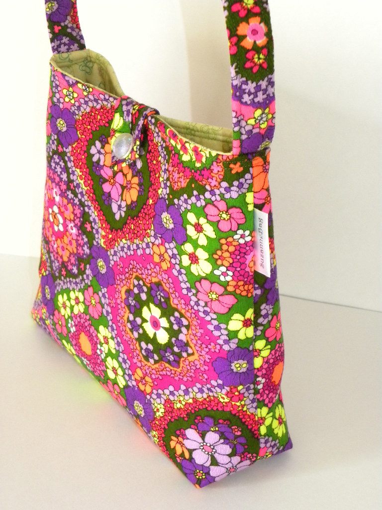 Vintage Flower Power - Marsha Handbag