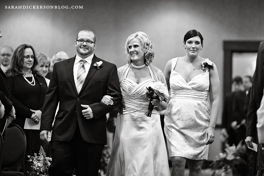 Topeka Ramada wedding photographs