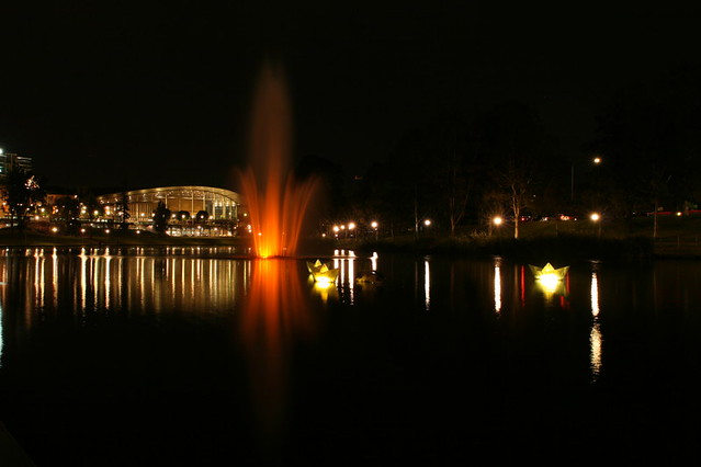 Torrens by night