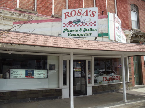 Rosa's in Bainbridge, NY by JuneNY