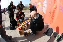 SH(OUT)!!! URBAN ART EXCHANGE - Painting in Amsterdam Oost (UrbanArtNOW) Tags: urban streetart art amsterdam painting underground skinny gris graffiti stencil pieces character murals exhibition kong urbanart enzo slider burner omsk crush seam exchange nero korn erase ogre spraycan wok shout gomer serk molotow spek sobek tchad conceptwall kcis revert soten nychos krea skia krio muralism tiws wame bomr philippjordan sket185 royschreuder thijmengeluk urbanartmuralism frauisa petercoolen sick77 woperheroe