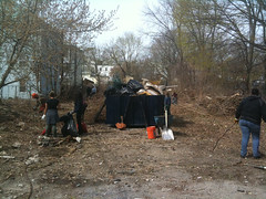 Cleaning up Giuffrida/How Community Garden Site