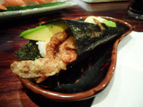Wagaya Spicy Soft Shell Crab Hand Roll
